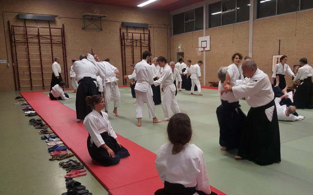 Yamashima Sensei op bezoek
