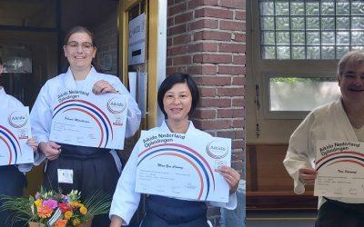 Aikido Nederland lerarenexamens